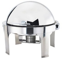 Browne Halco Stainless Steel Chafer Harmony round
