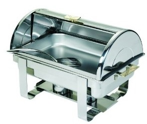 Browne Halco Stainless Steel Deluxe chafing Dish