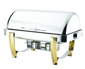 Browne-Halco rectangular chafing dishes