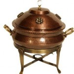 Shastra Copper Chafing Dish