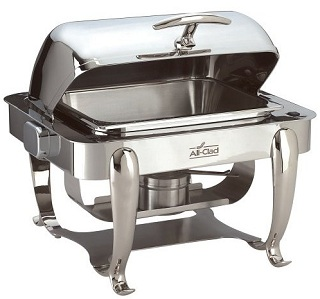 rectangular stainless steel chafing dish