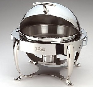 Round All Clad Chafing Dish
