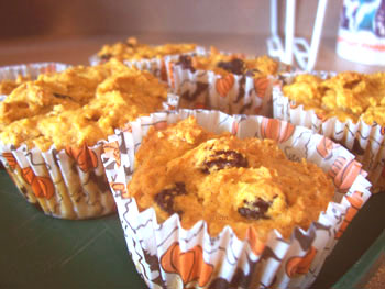Pumpkin Muffins Recipe