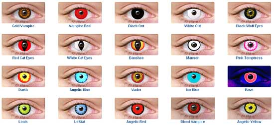 Halloween Lenses Contacts