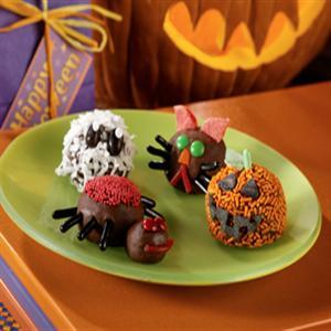 Scary and Spooky Halloween balls