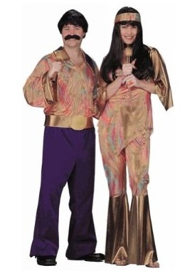 Sonny Cher Adult Couples Costume