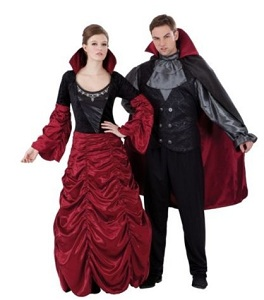 Vampires Halloween Couples Costume