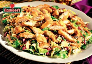 Applebee's Oriental Chicken salad