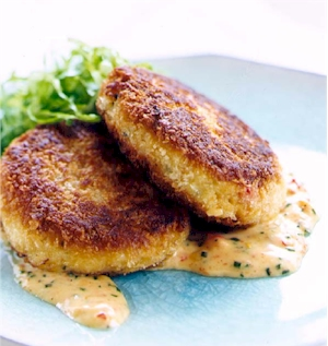 Crab Cakes Recipe – Joes Crab Shack Recipes [Copycat]