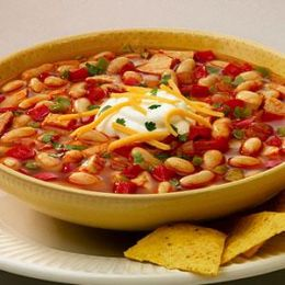 Southwestern Chicken Chili – Chili Restaurant Recipes [Copycat]