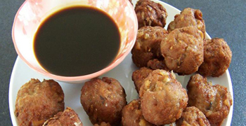 Turkey Balls Recipe