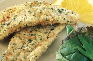 Parmesan Crumbed Fish
