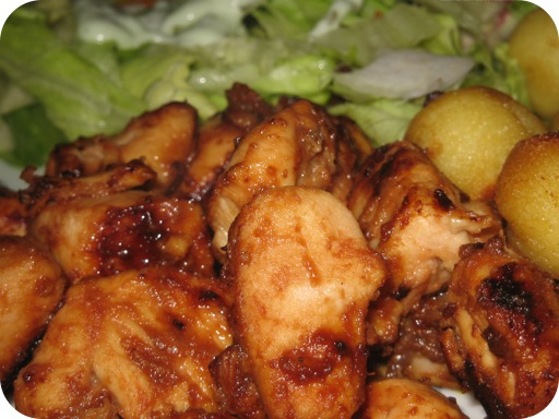 Sticky Chicken Recipe