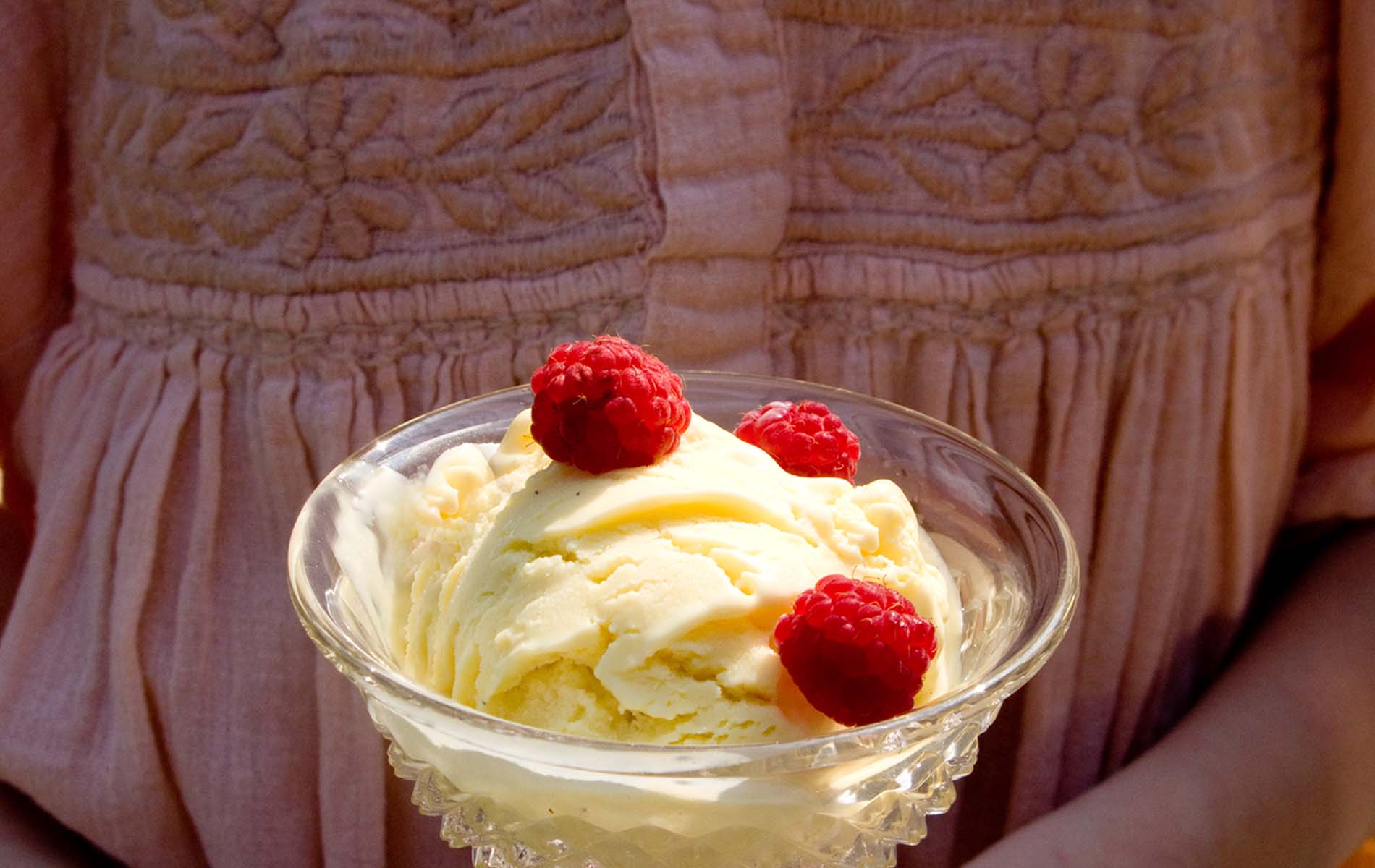 Lemon Ice Cream Recipe – Cheesecake Style
