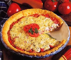 Recipe For Tomato Pie