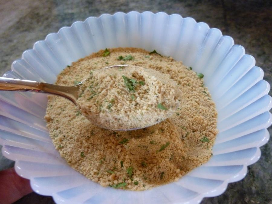 Italian seasoning bread crumbs