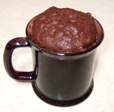 Chocolate Cake In Microwave