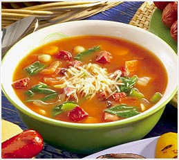 Minestrone Soup Recipe – Vegetable Flavor