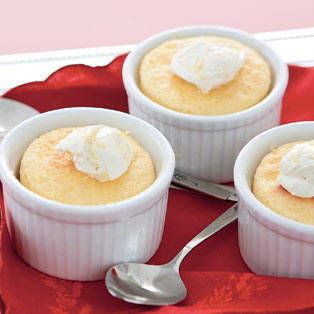 Lemon Cake Pudding