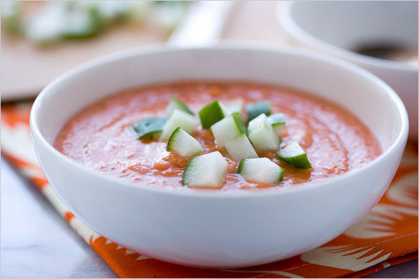 Recipe For Gazpacho