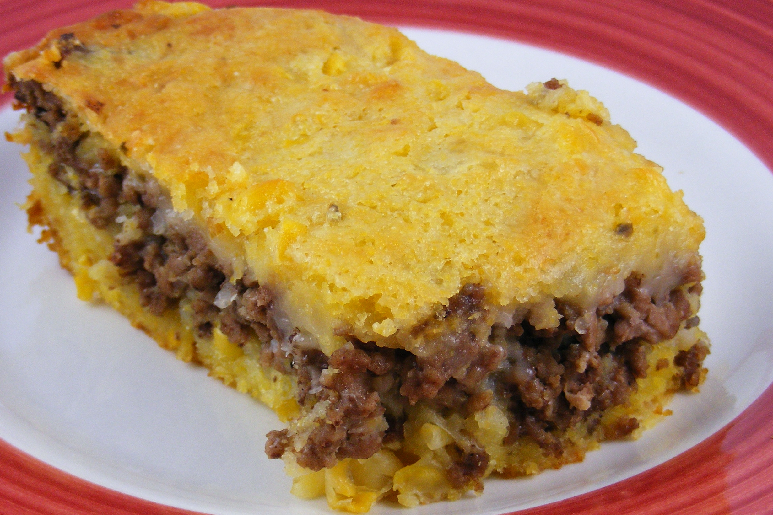 Mexican Corn Bread With Ground Beef