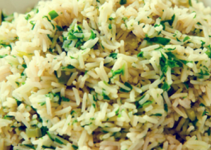 Spinach Rice Recipe