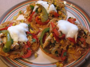 chicken-tostadas