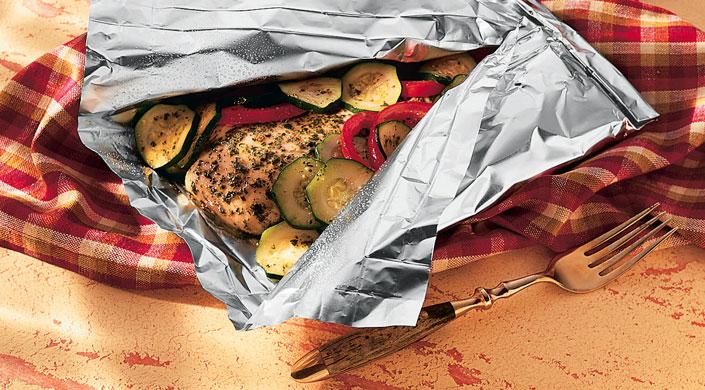 Chicken In Foil