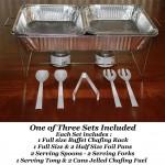 Disposable Buffet Serving kit