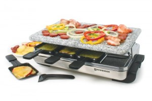 Swissmar Raclette Party Grill with Granite Stone