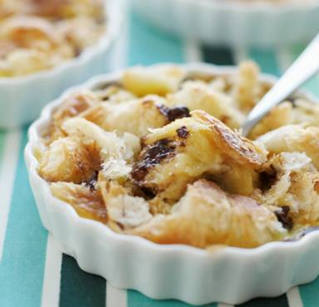 Bread And Butter Pudding With Croissants