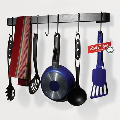 Kitchen Utensil Hanging Rack By Enclume
