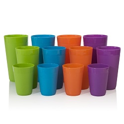 Multiple Size Plastic Tumbler Set