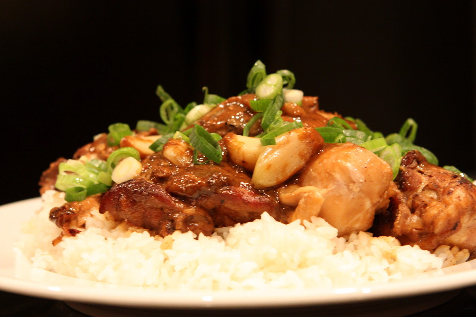 Chicken Adobo With Coconut Milk