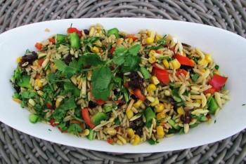 Easy Rice Salad Recipe