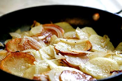 Pan Fried Potatoes Recipe