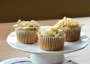 Almond Cupcake Recipe