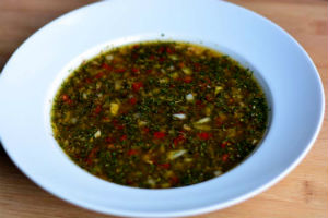 Authentic Chimichurri Sauce