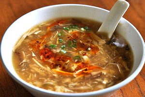 Authentic Hot And Sour Soup