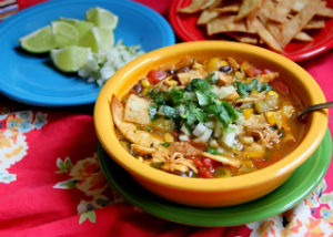 Mexican Chicken Tortilla Soup Recipe