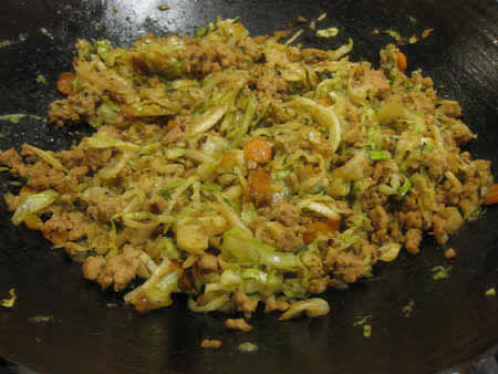 Chicken And Cabbage Stir Fr