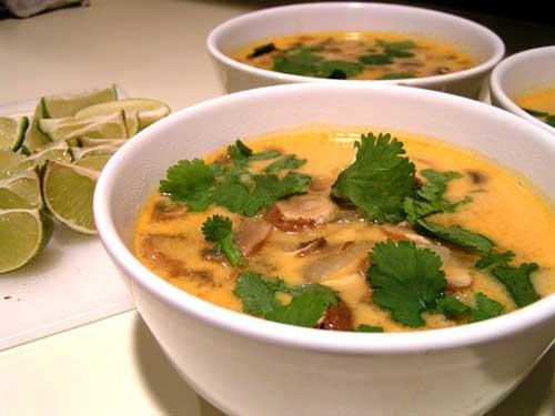 Tom Kha Gai Soup Recipe