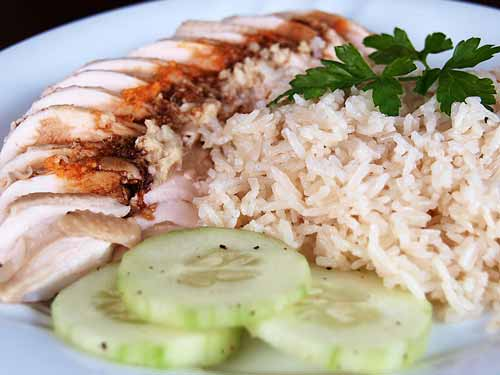 Singapore Hainanese Chicken Rice Recipe
