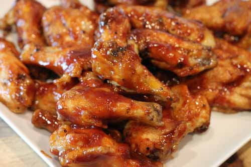 Baked BBQ Chicken Wings Recipe